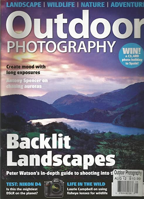 Amazon Com Outdoor Photography Magazine August 2012 Landscape