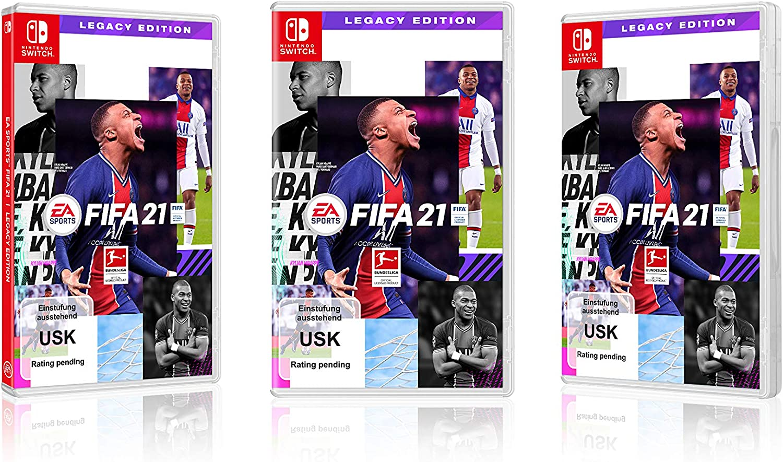 Switch - FIFA 21 - [Versión Alemana]: Amazon.es: Electrónica