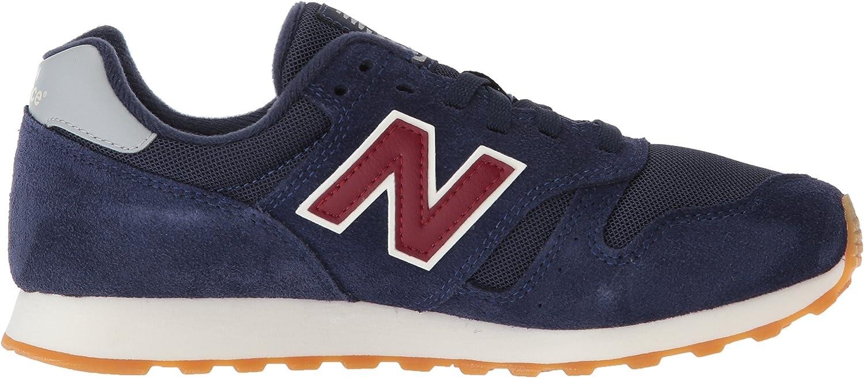 New Balance Herren 373 Sneaker, grau, für für Männer Marineblau / Rot