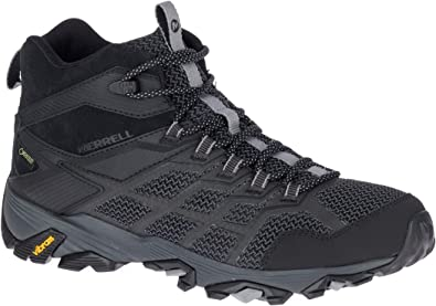 Fst All Mid Gtx Black Men Shoes Moab Merrell 2019 2 SchuheAmazon b7Y6ygvf