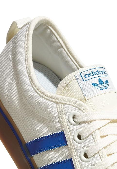 adidas Nizza - Chupete, Color Blanco y Azul