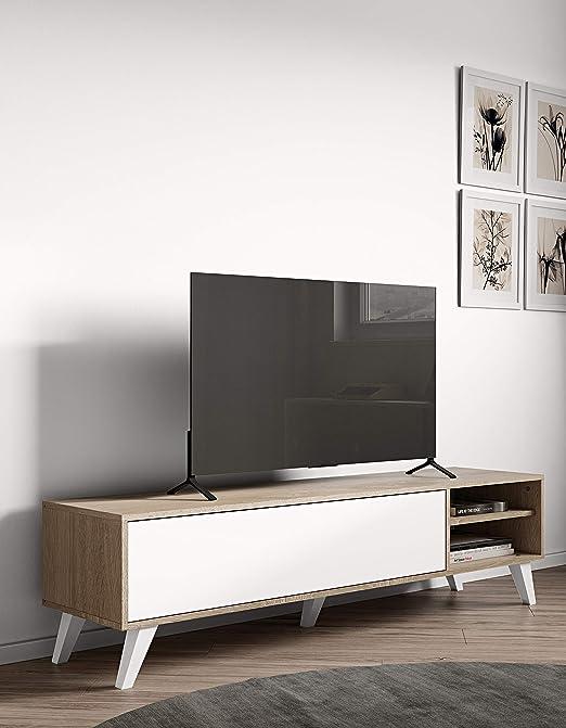 Modern Loft Mesa para Televisor Celine A4: Amazon.es: Hogar