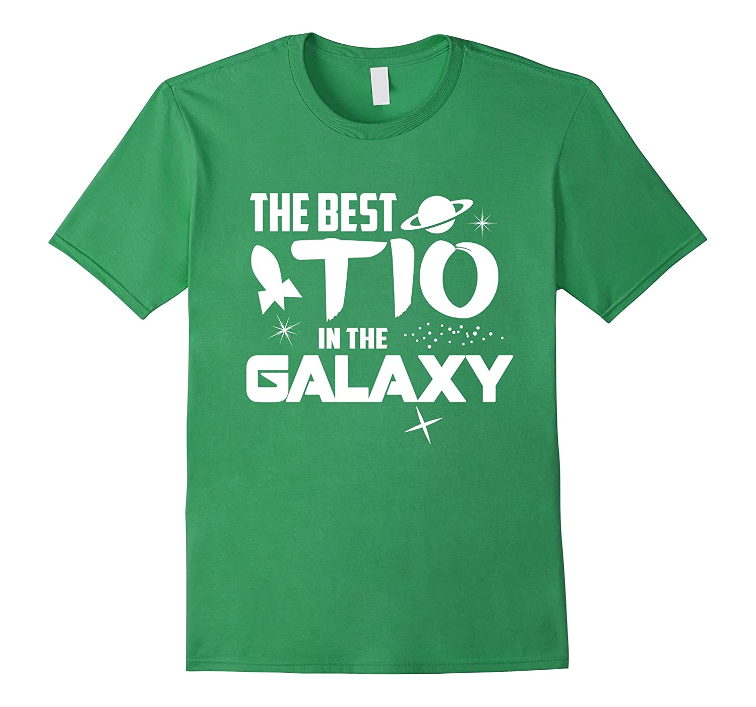 The Best Tio in the Galaxy Shirt - Sci-Fi Uncle Gift Tee-TH