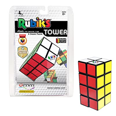 Winning Moves Rubik's Tower Brain Teaser Puzzle: Toys & Games