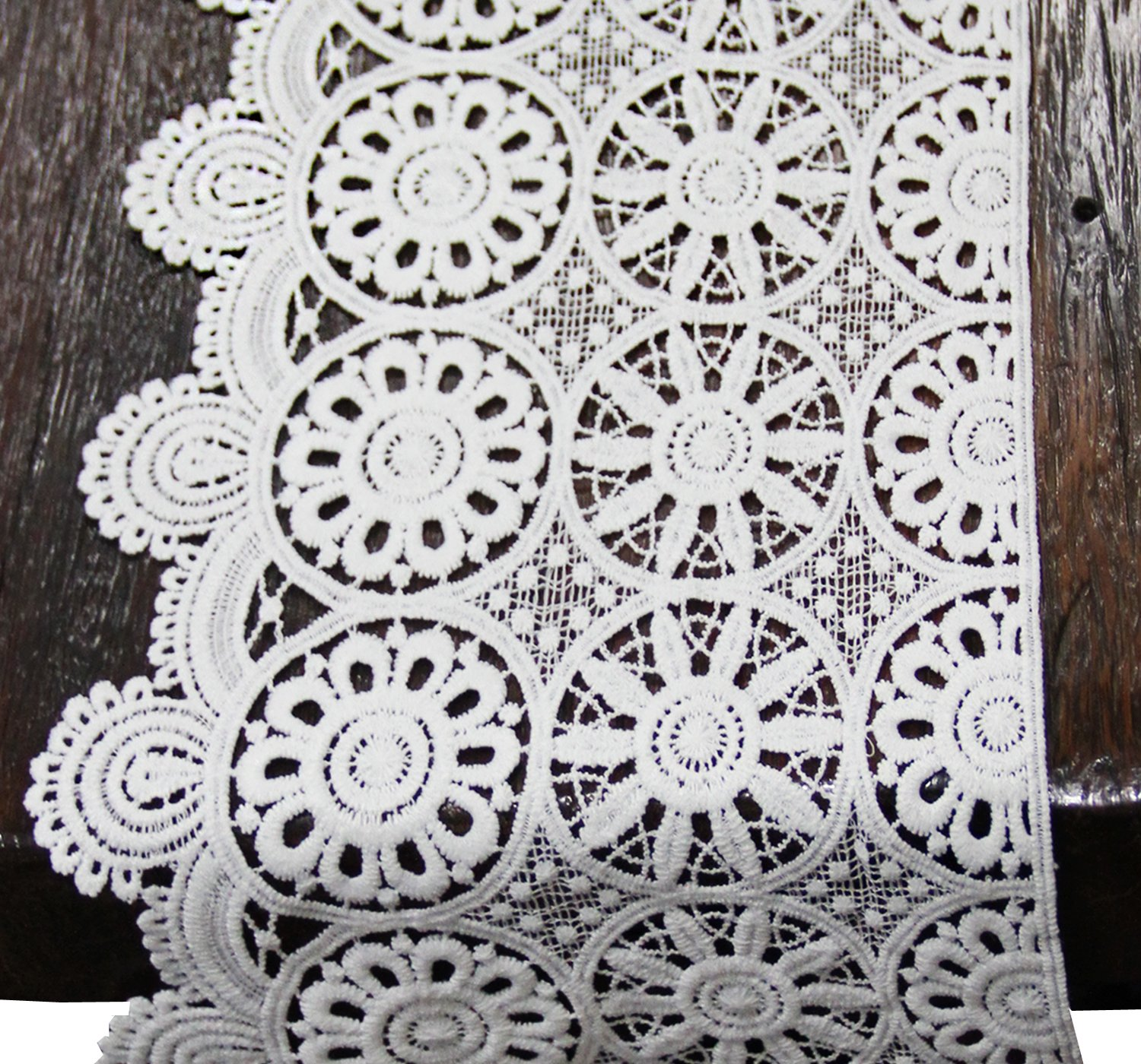 wide cotton lace trim