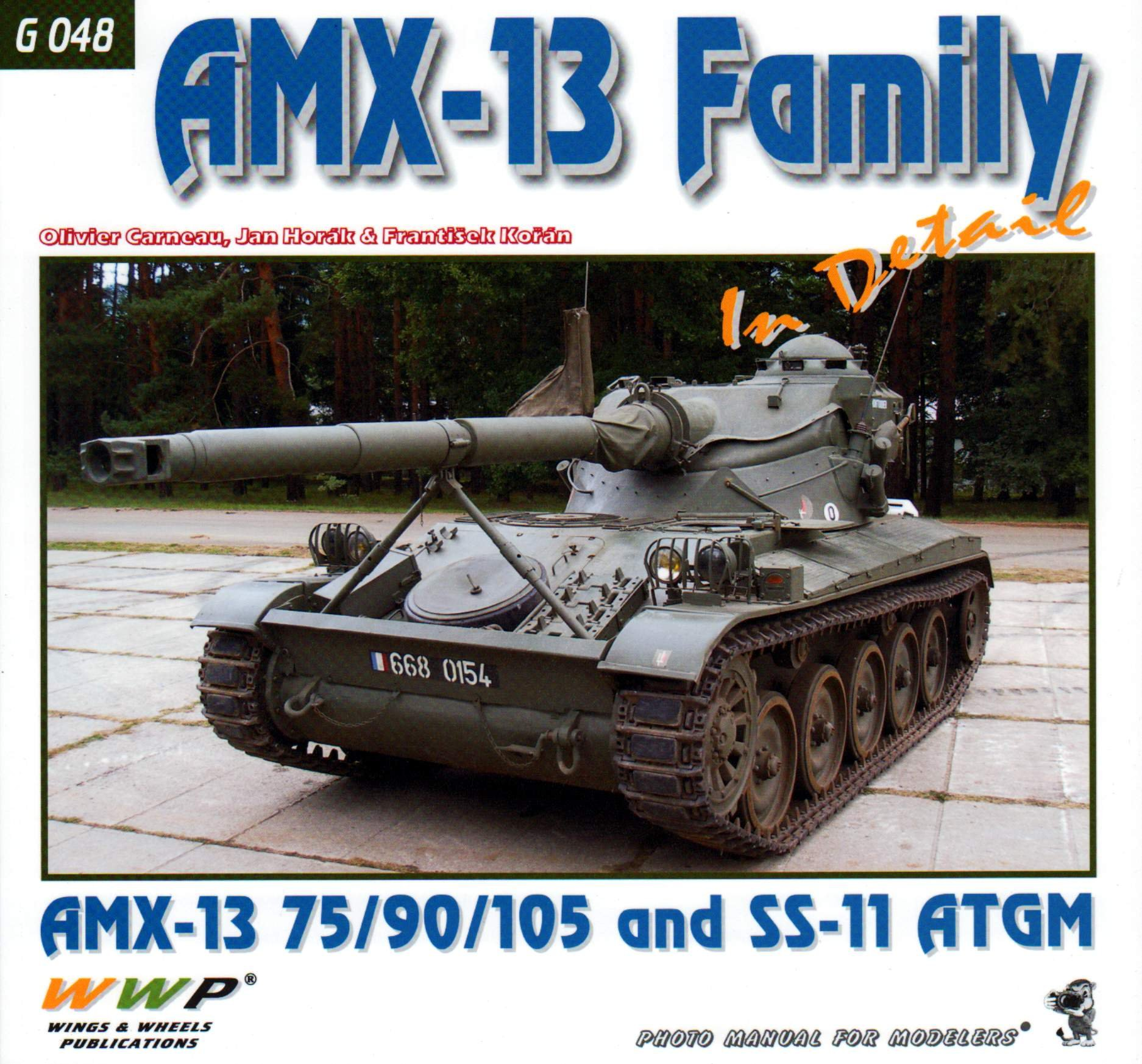 WWPG048 Wings & Wheels Publications - AMX-13 Family (AMX-13 75/90
