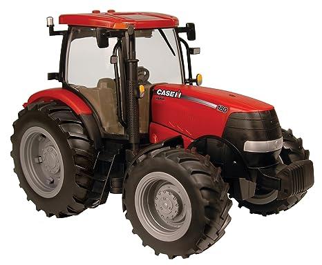 8210d3a28 Amazon.com: Ertl Big Farm 1:16 Case 180 Tractor: Toys & Games
