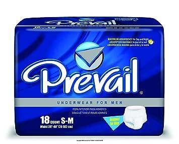 Prevail Underwear for Men, Undrwr For Men Sm-Md 28-40I, (