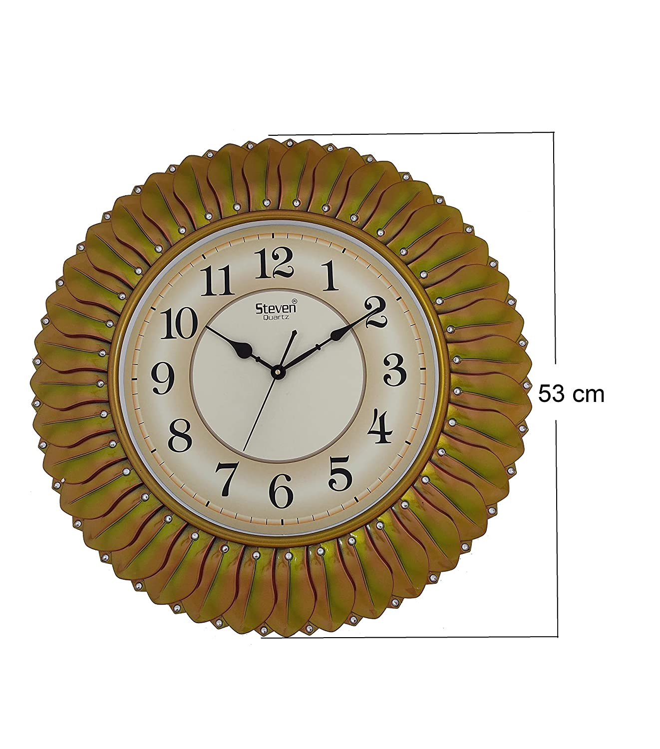 Qualitytime Wall Clock Picture Time Colour