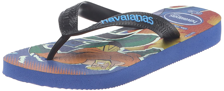 8211c2c369cdf Havaianas Boys  KIDS HEROES Thong Sandals Blue