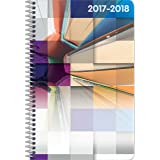 Student Planner for the 2017 - 2018 School Year for High School / College Kids - By School Datebooks