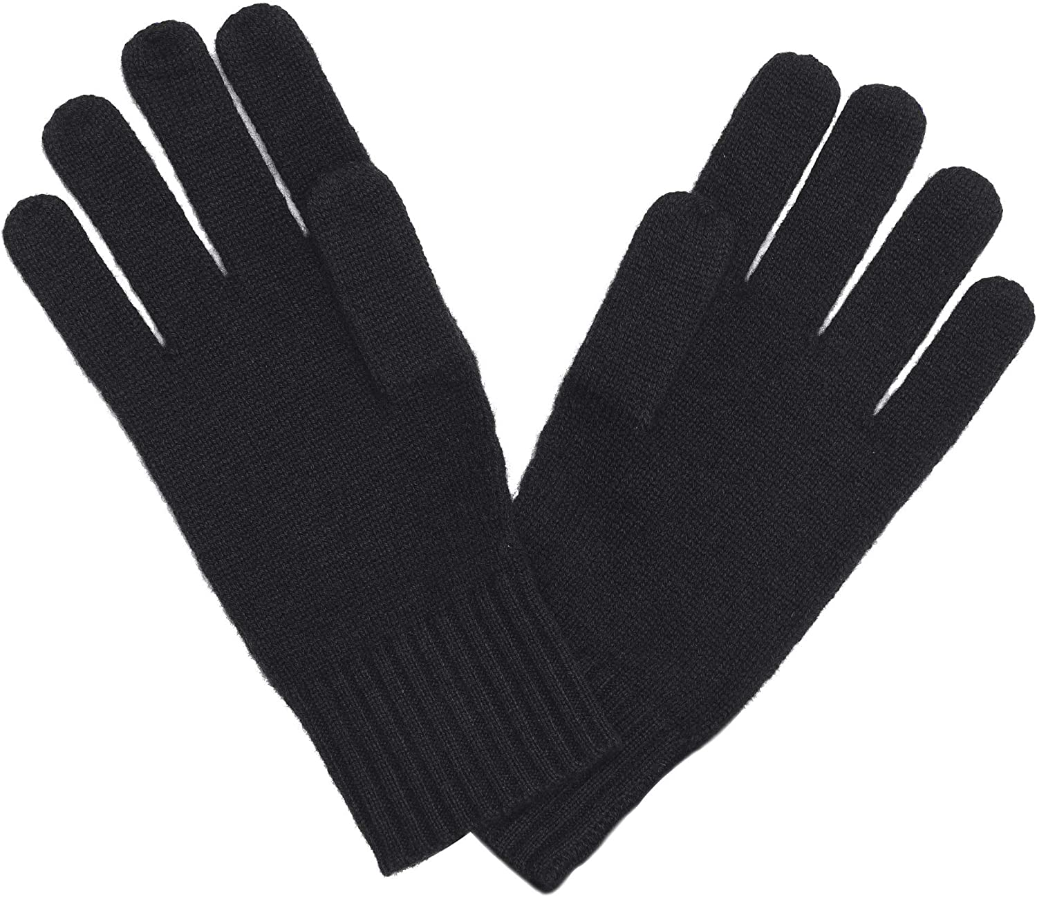 State Fusio Unisex Knitted Gloves Cashmere Merino Wool Long Ribbed Cuffs Extra Warm and Soft