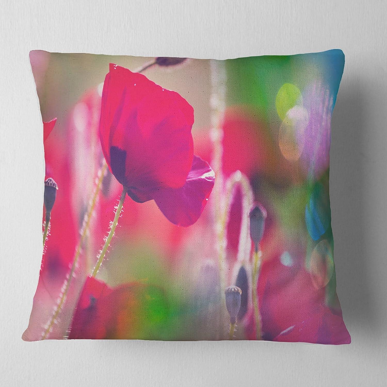 30 X 20 Kess InHouse Alison Coxon Summer Fern Pink Orange Standard Pillow Case 30 by 20-Inch