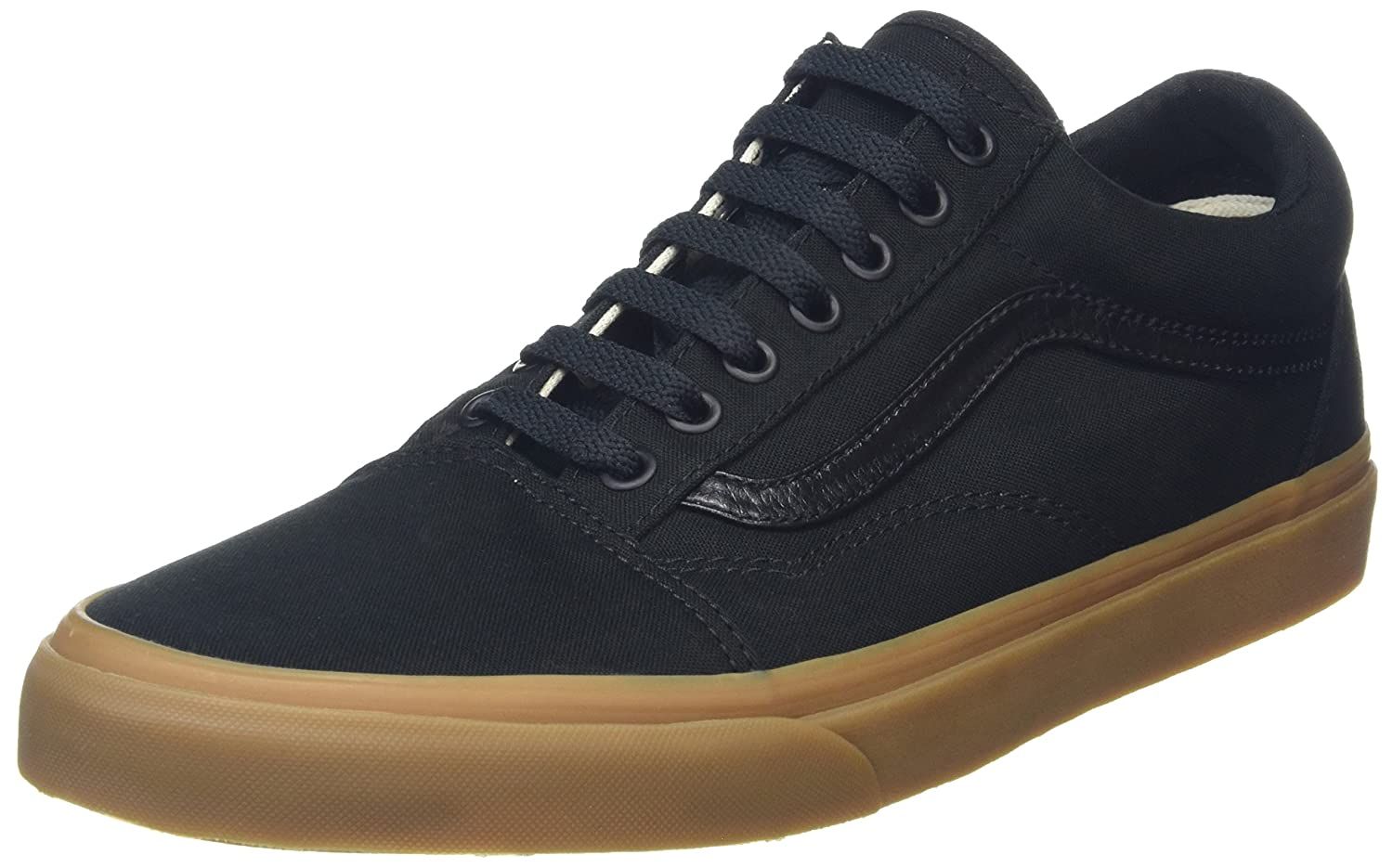 Vans Unisex Old Skool Classic Skate Shoes B01CRB642W 7 B(M) US Women / 5.5 D(M) US Men|Black Gum