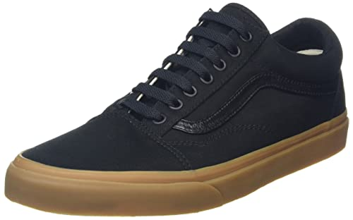 b017b3545bbe52 Vans Unisex Old Skool (Canvas Gum) Black and Light Gum Sneakers - 4 UK India  (36.5 EU)  Buy Online at Low Prices in India - Amazon.in