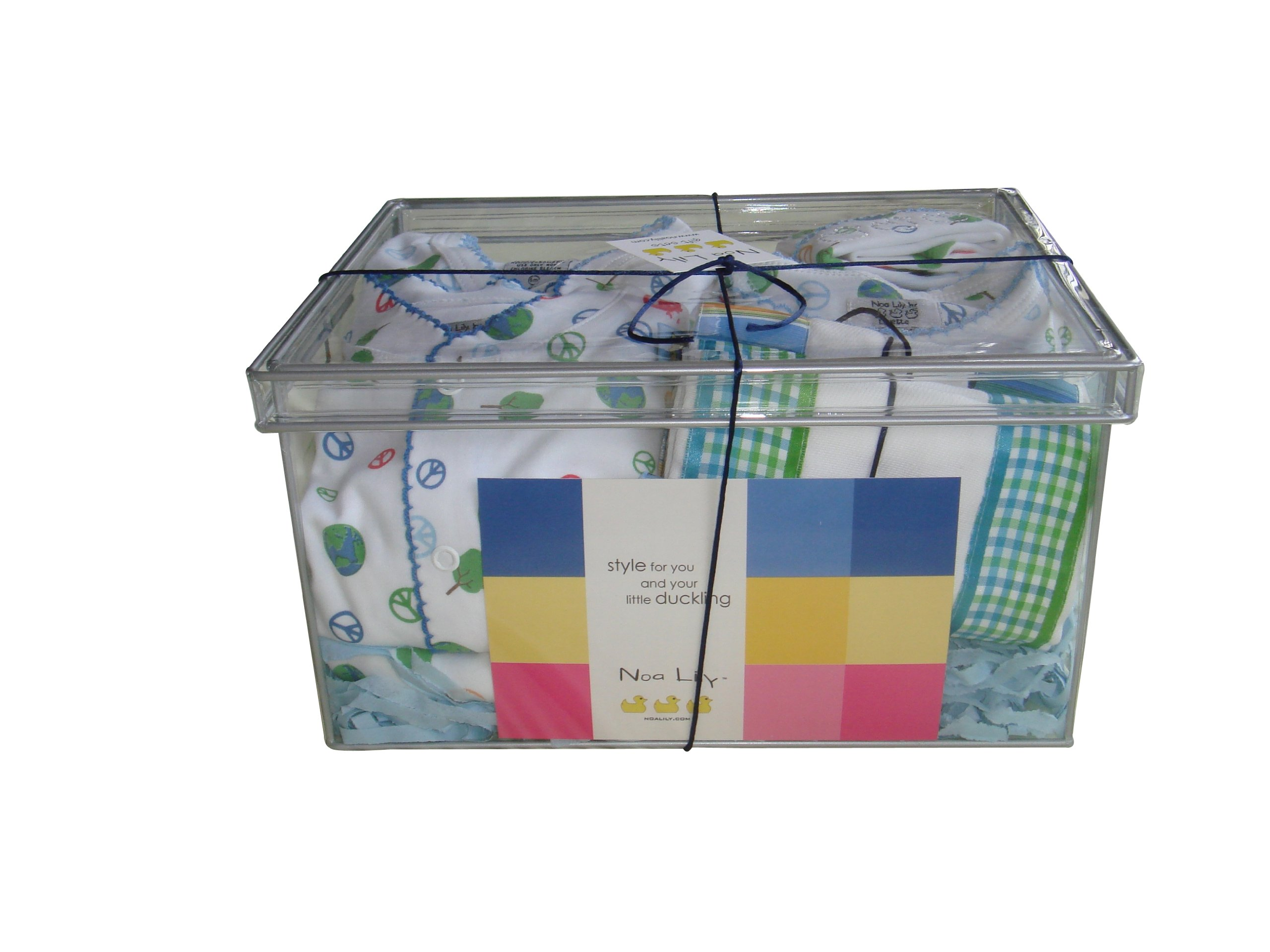 Noa Lily Gift Set with Footie