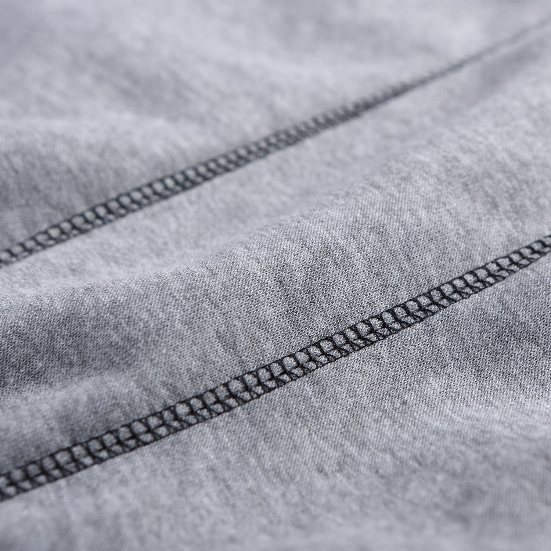 Kaured Fashion Mens Pullover Lightweight Crewneck Long Sleeves Hooded Sweatshirts US Sizes