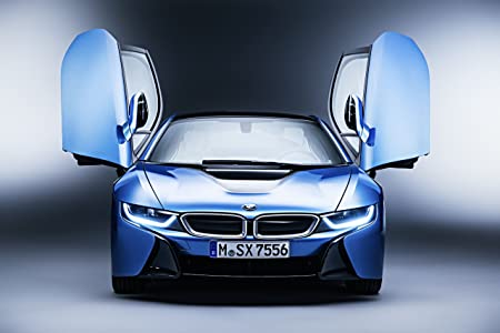 Classic And Muscle Car Ads And Car Art Bmw I8 Pure Impulse 2015