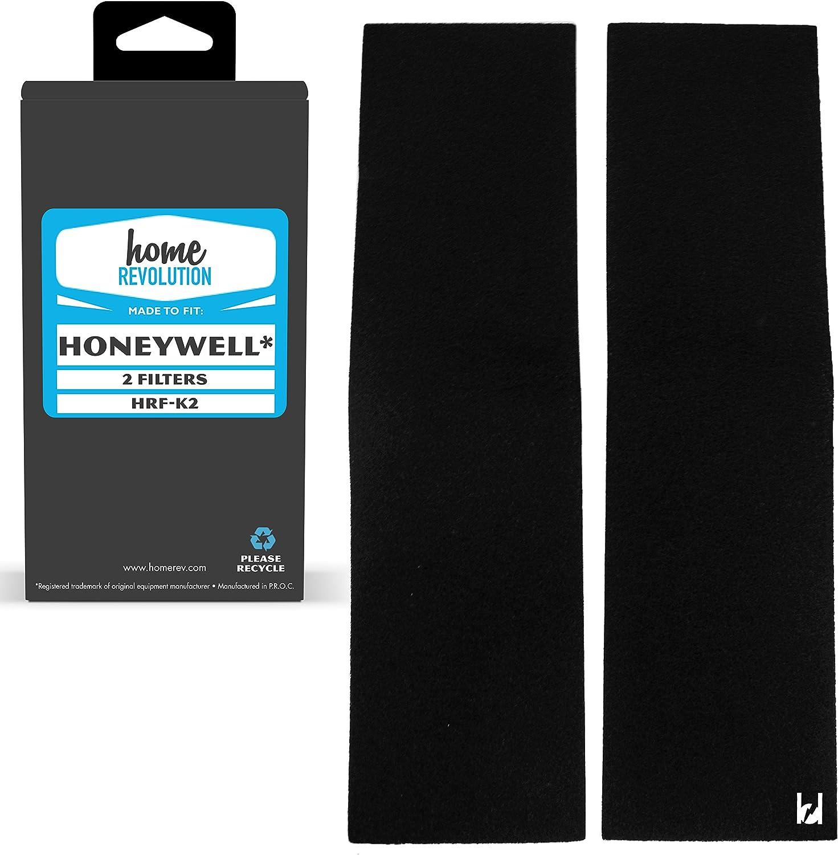 2 Honeywell Filtro de carbón de repuesto; Fits fd-070, hfd-120 ...