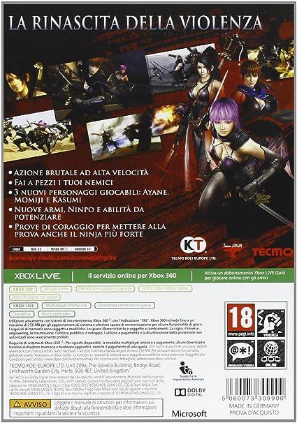 Ninja Gaiden 3: RazorS Edge [Importación Italiana ...