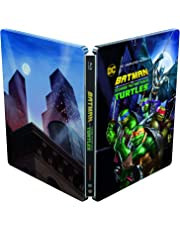 Batman vs Teenage Mutant NinjaTurtles Steelbook [2019]