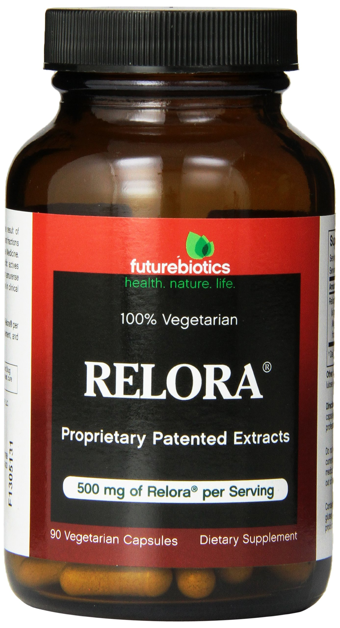 Futurebiotics Relora 500 mg, 90 Vegetarian Capsules by Futurebiotics