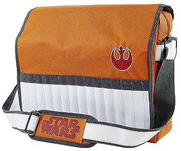 Star Wars Bolsa Bandolera Logo Star Wars en Color Naranja