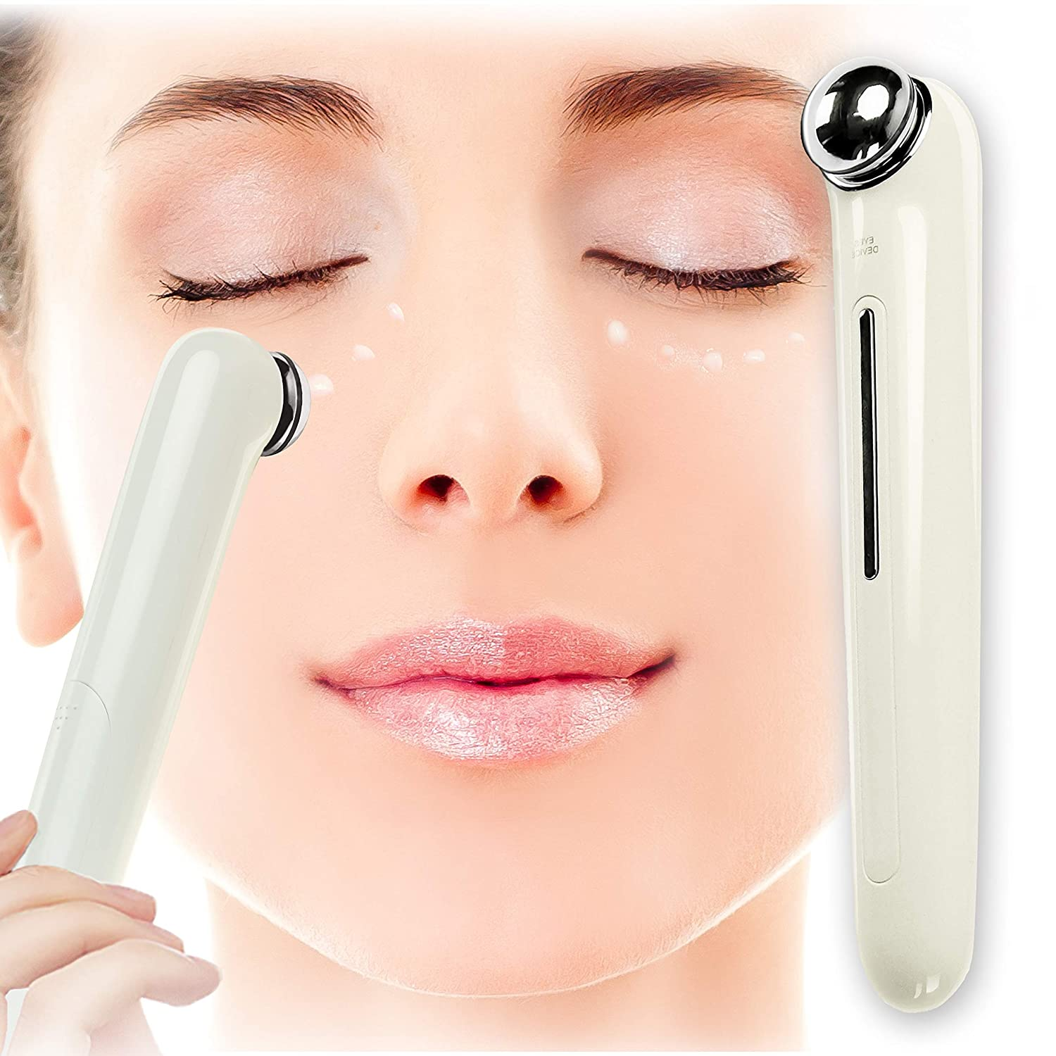 Star Brand Eye Massager Eye Pen ION infusion Eye Contour Care Instrument Remove Wrinkles Dark Circles Puffiness Mini Massage Relaxation Equipment