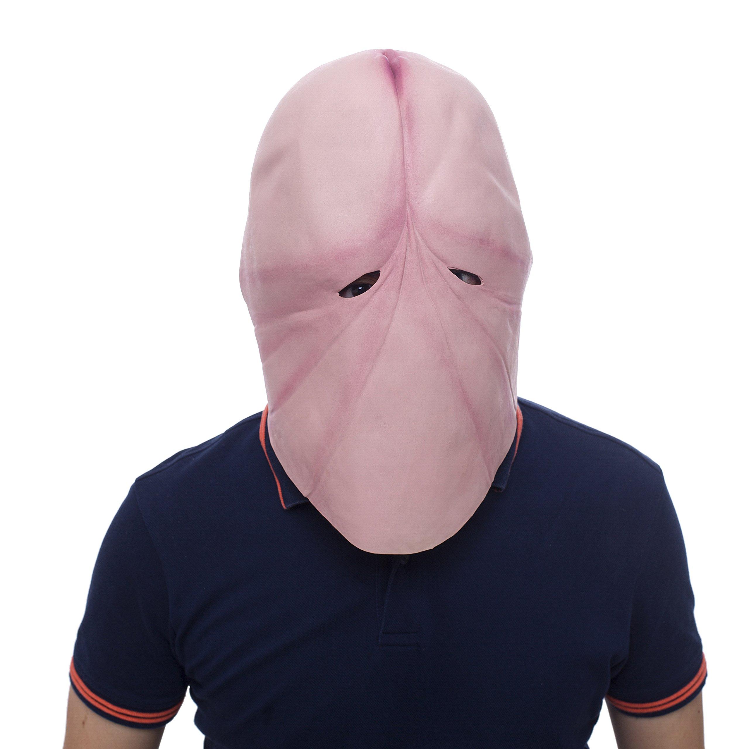 Halloween Novelty Mask Molezu Party Mask Latex Head Funny Mask