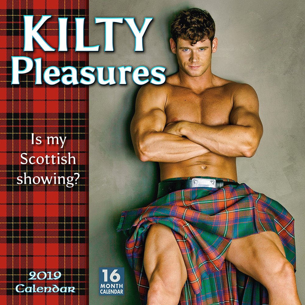 Kilty Pleasures 2019 Wall Calendar by Sellers Publishing, Inc.