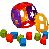 Toyshine Shape Sorter Block Set 24 Pcs Non-Toxic - Multi Color