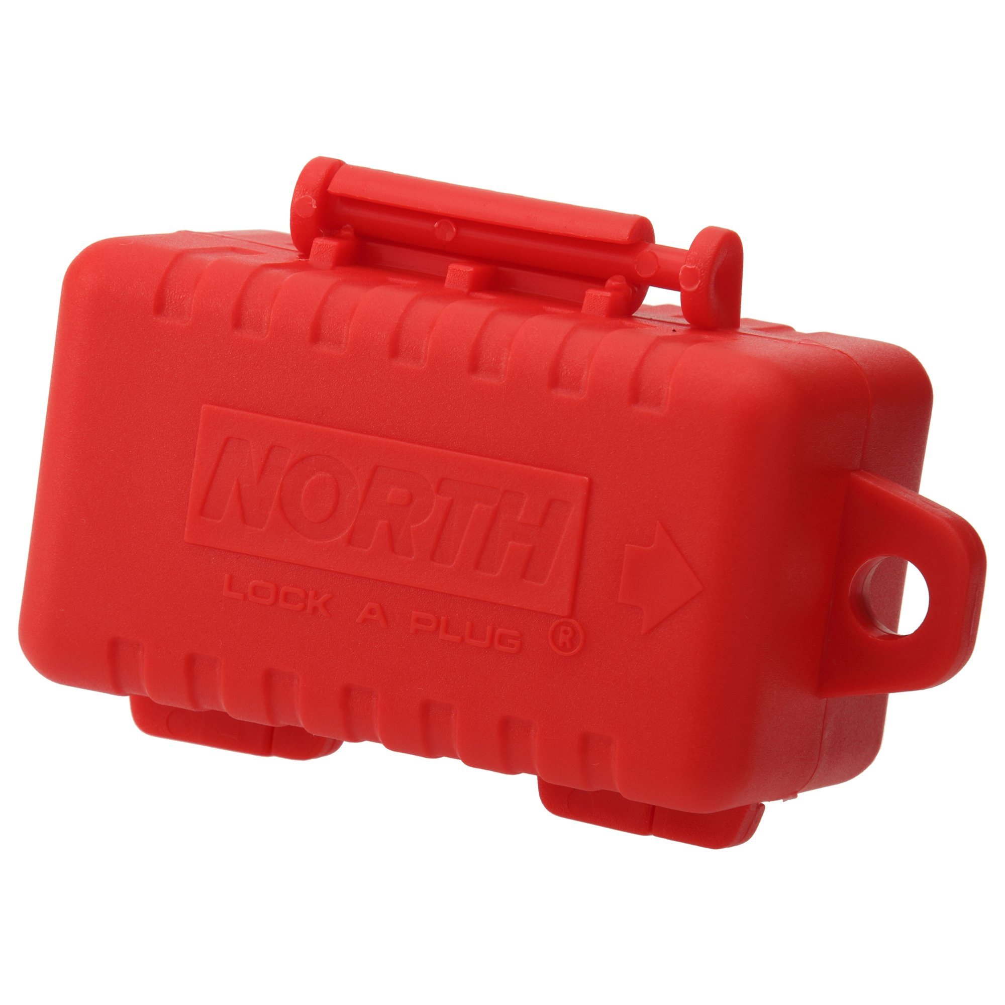 Panduit PSL-CL480 240-480 Volt AC Cord Lockout Device, Red