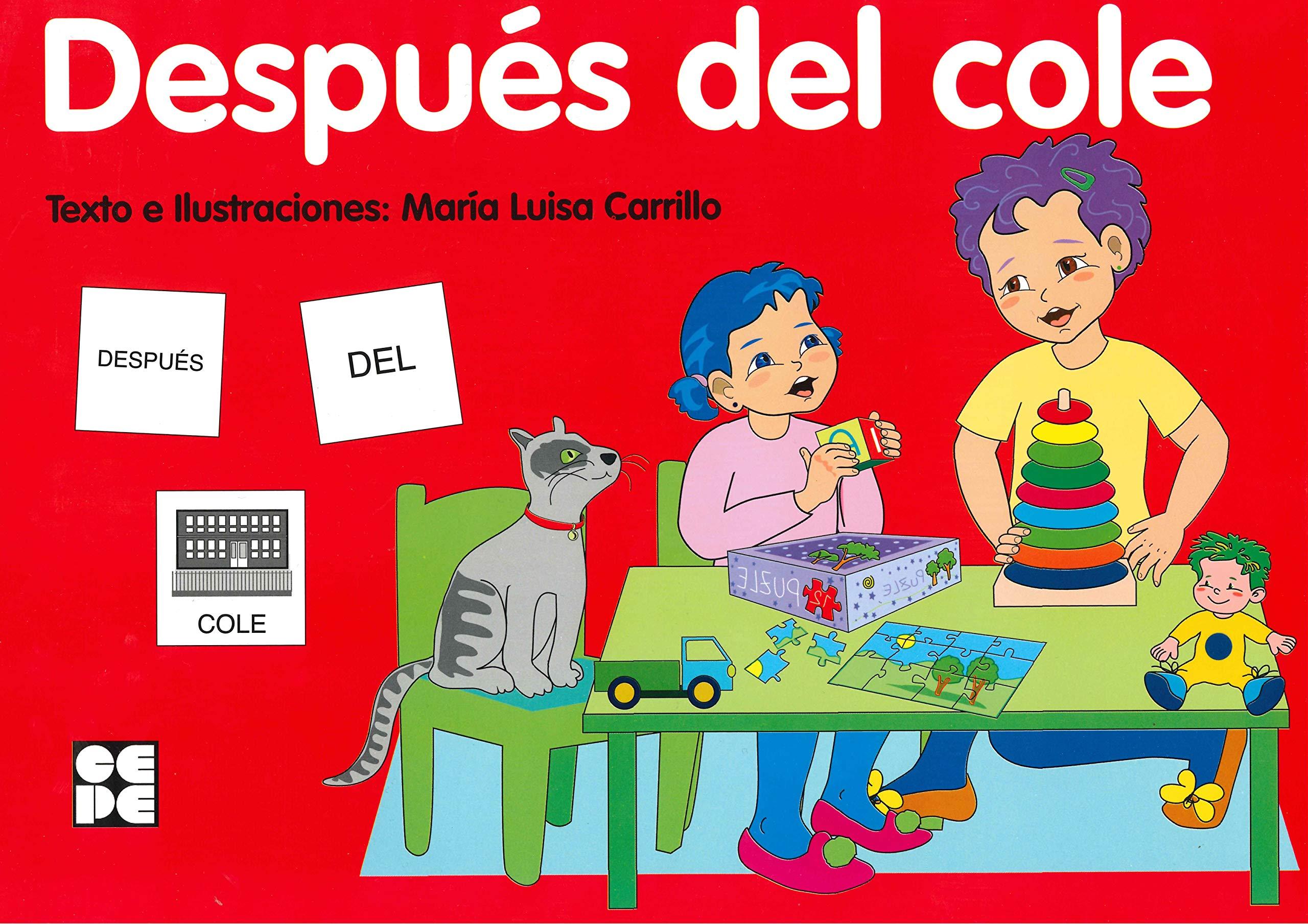 Pictogramas: Después del cole: 20 Pictogramas: lecturas fáciles para niños con dificultades: Amazon.es: Carrillo Rojo, María Luisa: Libros