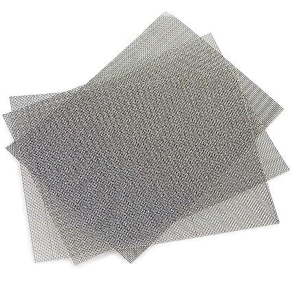 Alambre de malla, POAO 3 unidades, malla de acero inoxidable para roedores, 1 mm de malla, 300 x 210 mm
