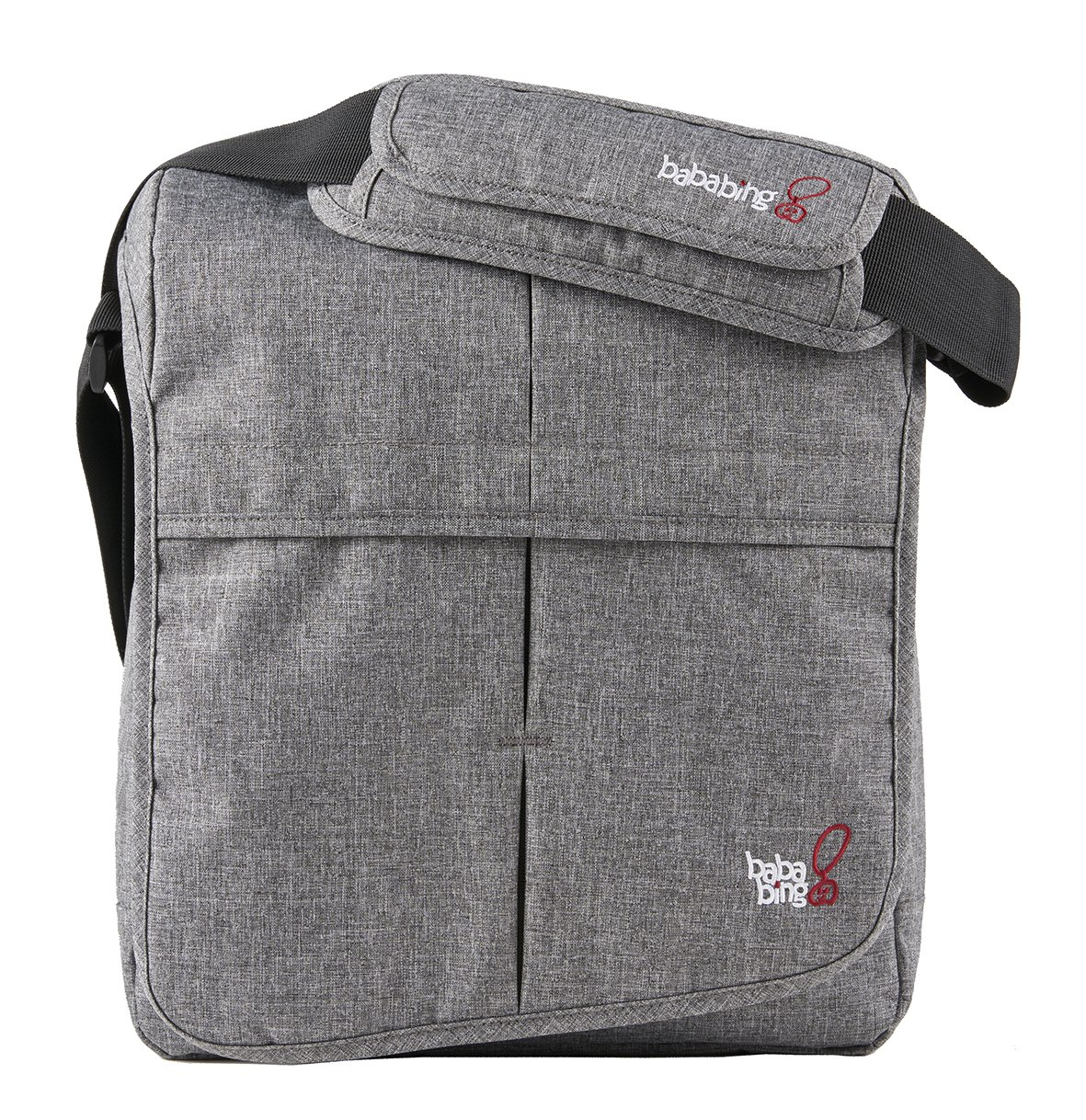 Bababing Daytripper Lite Changing Bag, Grey Marl baba bing BB55-001