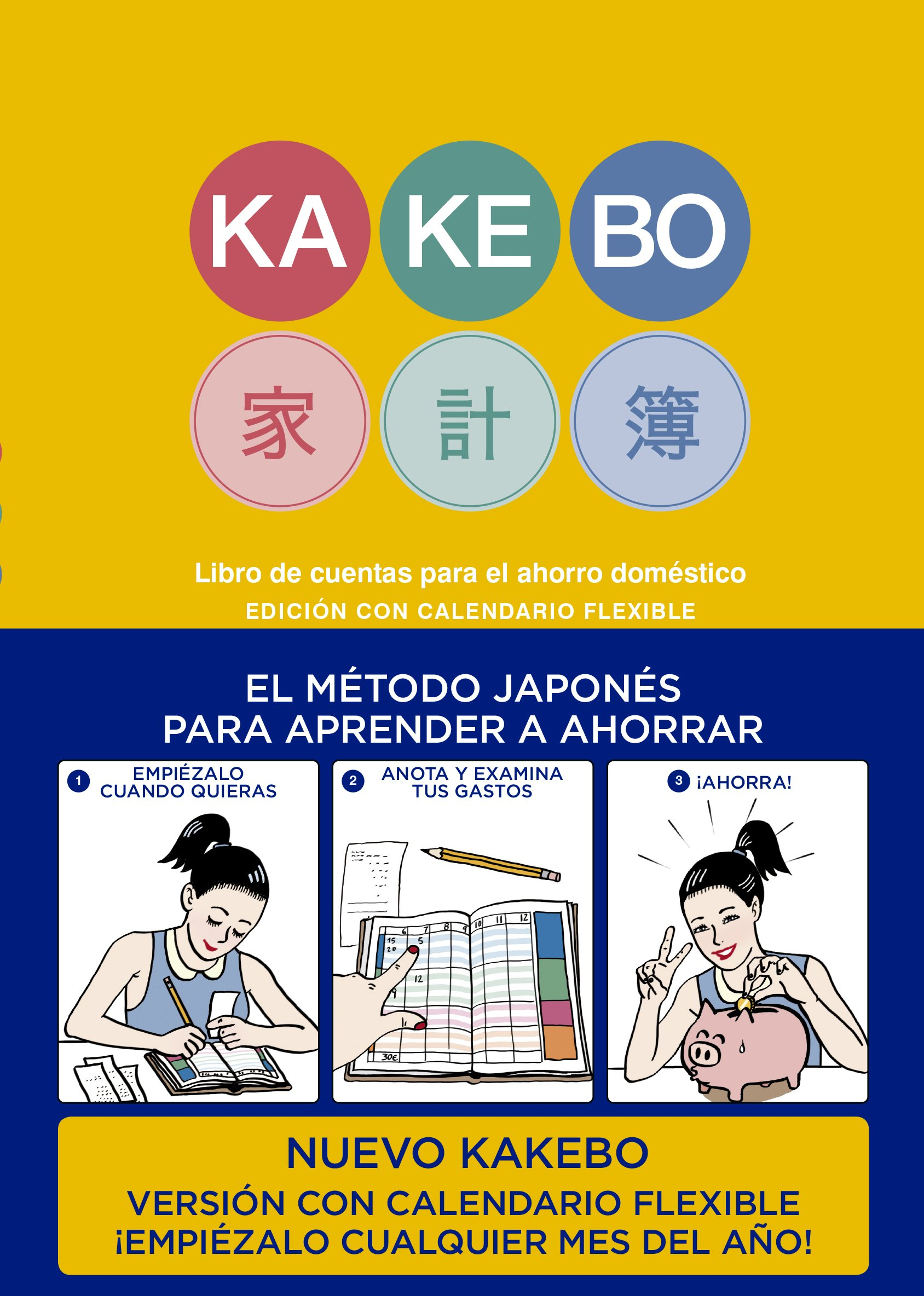 Kakebo Blackie Books con calendario flexible: Amazon.es ...