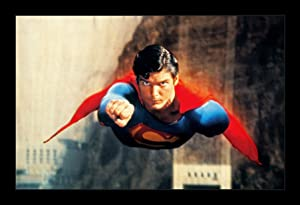 Wallspace Superman Christopher Reeve - 11x17 Framed Movie Poster