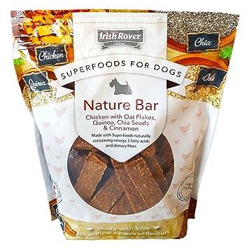 Superalimentos para perros Irish Rover con copos de avena, quinoa, semillas de chia y