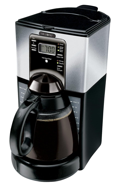 100%品質 Mr. Coffee Coffee FTX45-1 12-Cup Programmable Coffeemaker, Black Coffeemaker, Programmable/Stainless コーヒーメーカー シルバー 【並行輸入品】 B001KBZ99K, ToyStep:a7505053 --- staging.aidandore.com