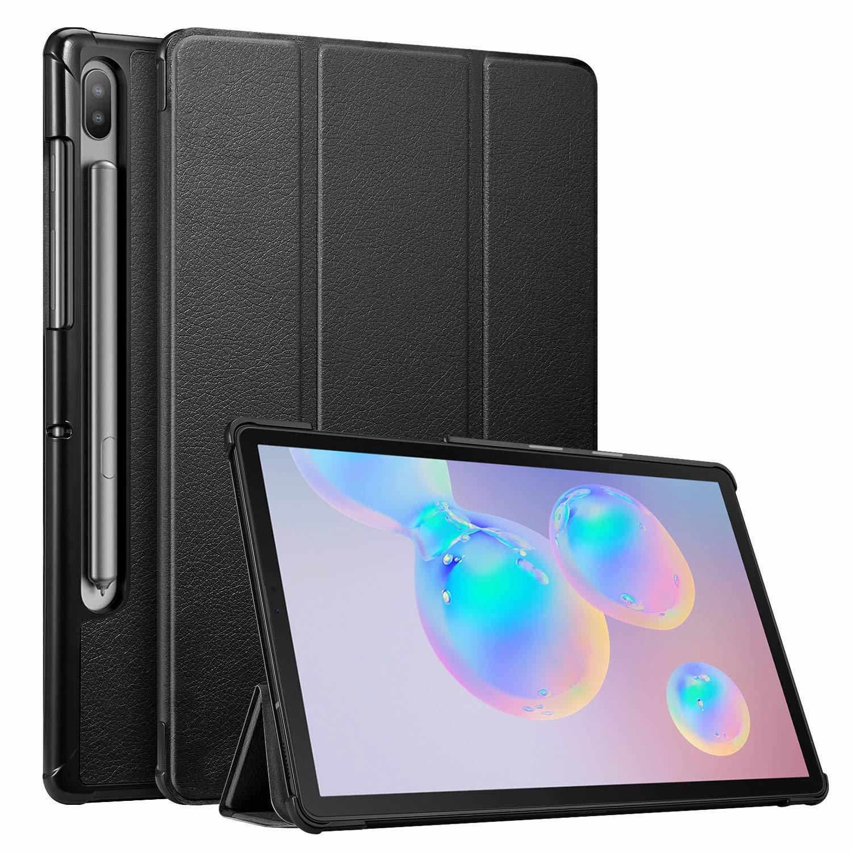 funda book cover para Samsung Galaxy Tab S6 10.5 2019 (Model SM-T860 Wi-Fi, SM-T865 LTE) negra
