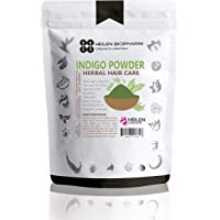 Heilen Biopharm Indigo Powder for Hair - Natural Black Dye, Anti-Dandruff & Hair Growth (75 gm / 2.65 oz / 0.17 lb)