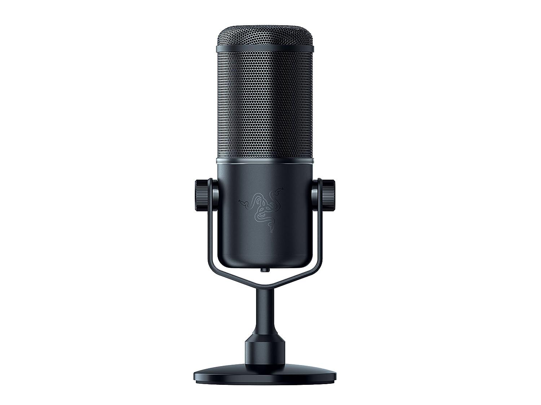 Microfono profesional para streaming Razer Seiren Elite xmp