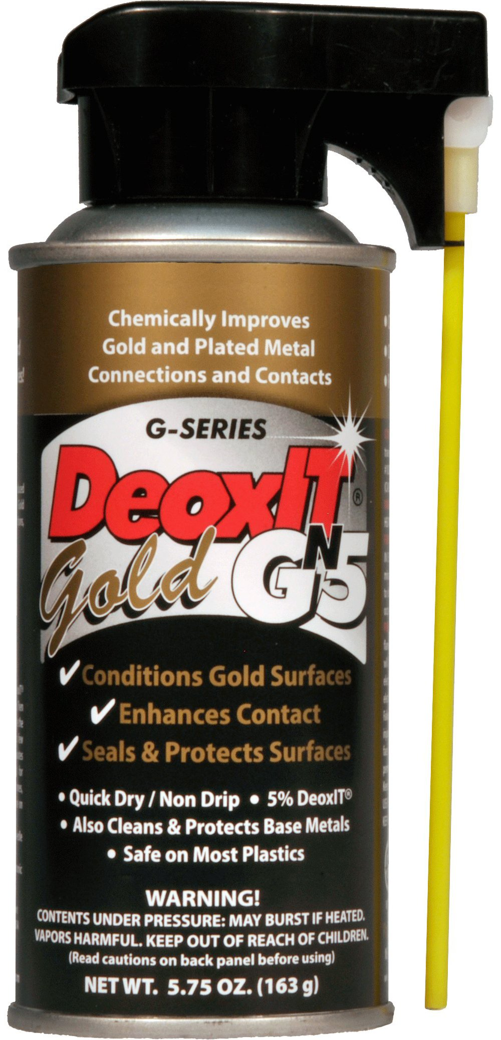 DeoxITGOLD GN5S-6N Contact Spray 5% solution by CAIG