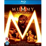 The Mummy Trilogy: The Mummy, The Mummy Returns, The Mummy: Tomb of the Dragon Emperor [Blu-ray]