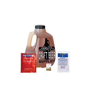 HomeBrewStuff Basic 1 Gallon Nano-Meadery Honey Mead Recipe Refill Kit