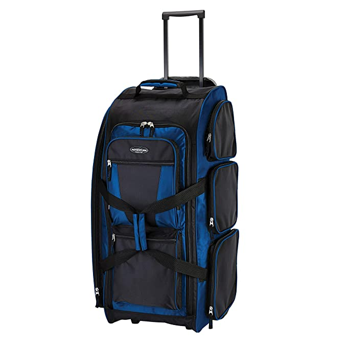 "Travelers Club 30"" Xpedition Duffle Bags With Wheels"