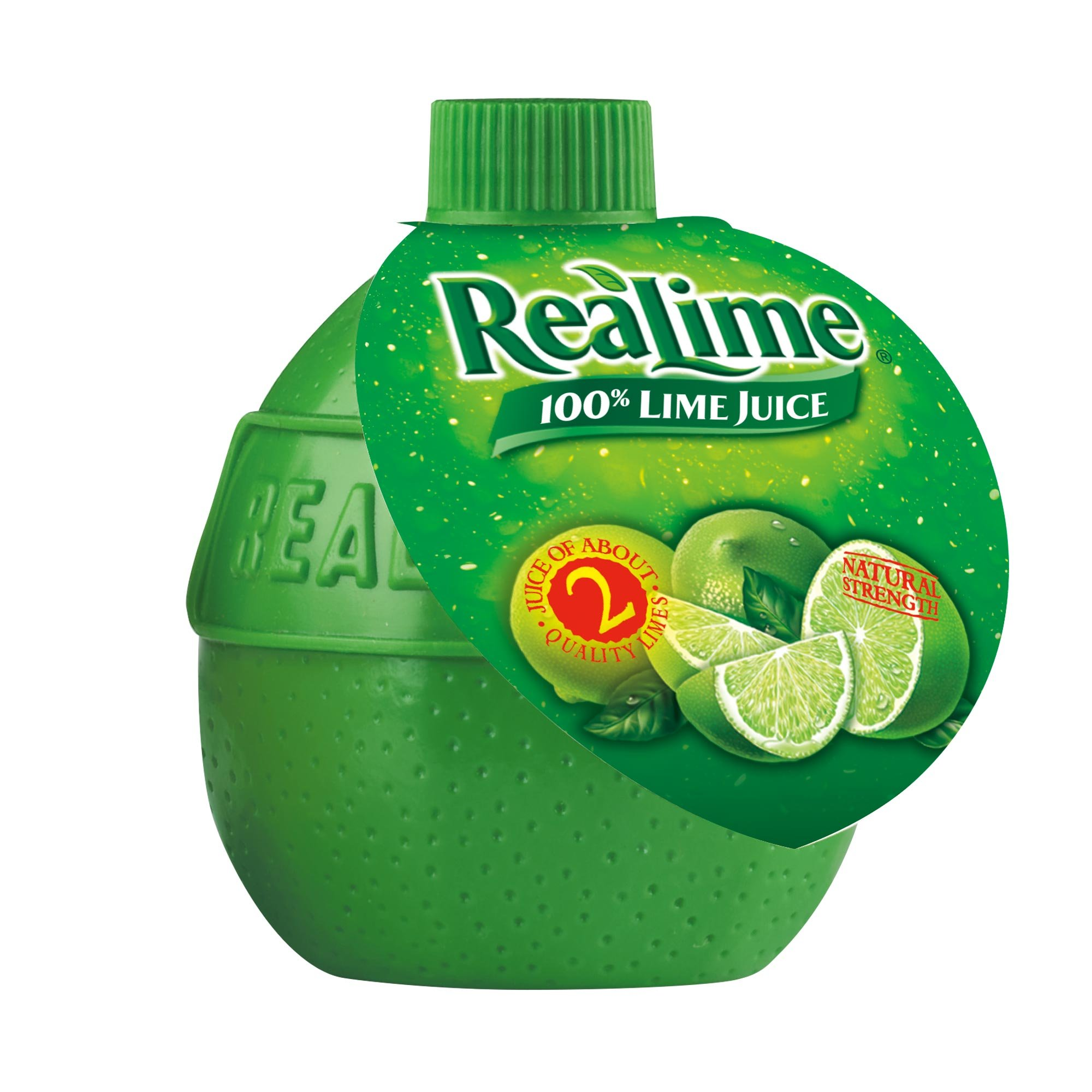 ReaLime 100% Lime Juice, 2.5 Fluid Ounce Bottle (Pack of 24)