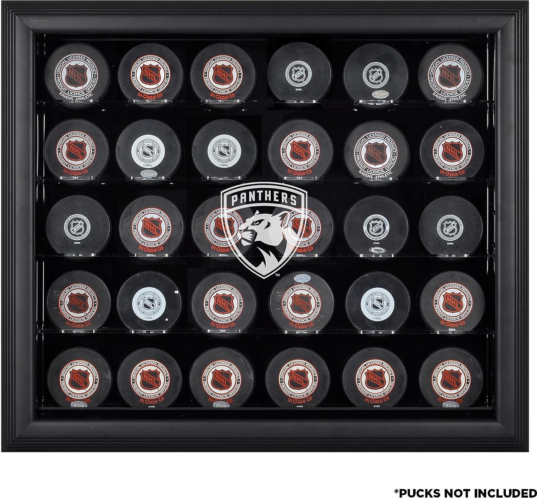 Florida Panthers 30-puckブラック表示ケース – Fanatics本物認定ホッケーのパック – ロゴDisplay Cases