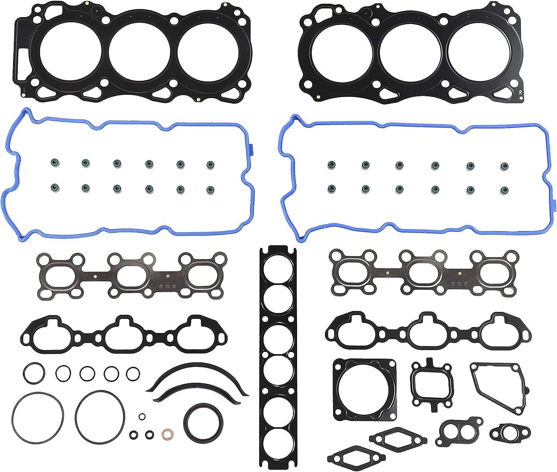 Infiniti//Pathfinder QX4 3.5L V6 DOHC Naturally Aspirated designation VQ35DE DNJ Full Gasket//Sealing Set FGS6044 For 01-04 Nissan
