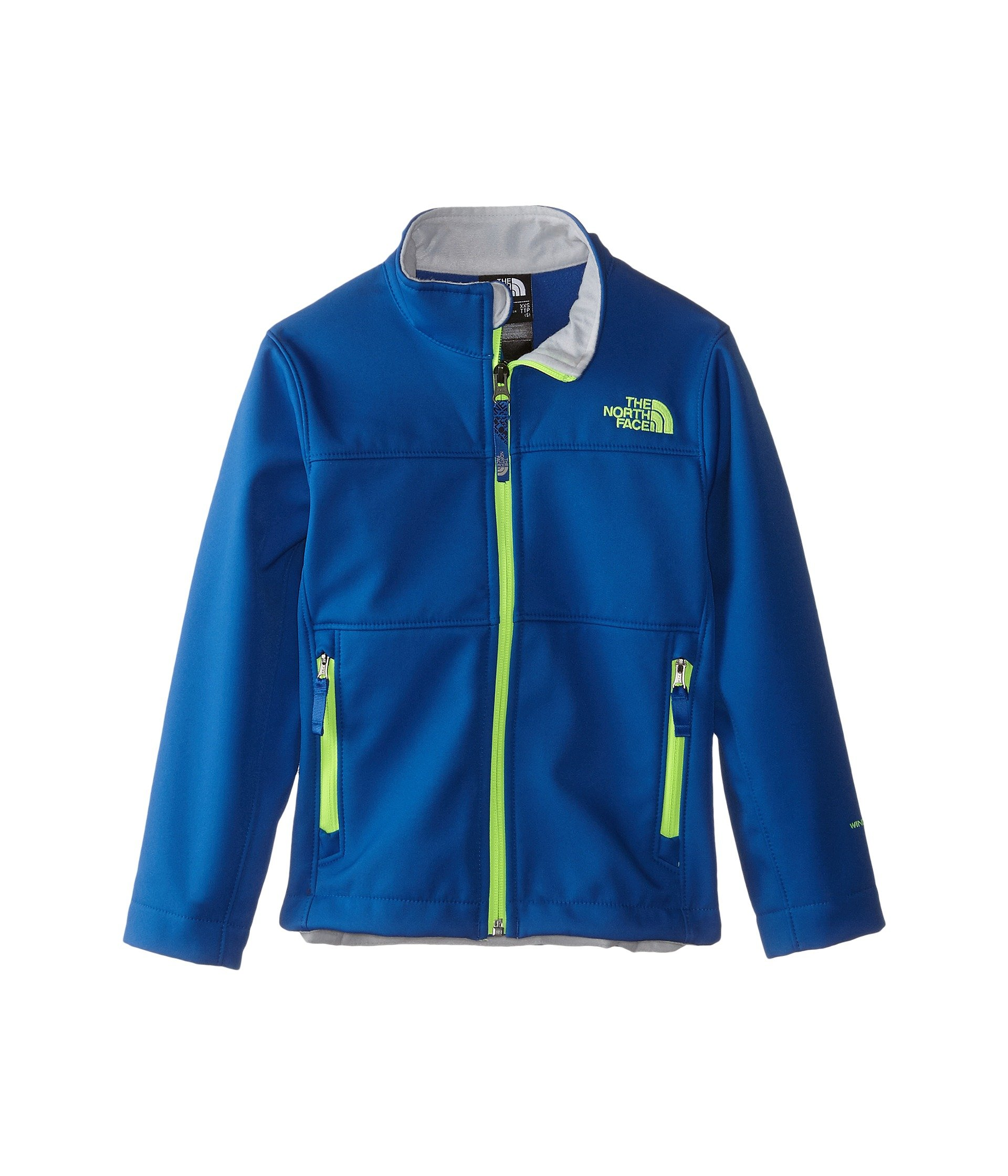 The North Face Kids Boys TNF Apex Bionic Jacket 15 (Little Big Kid), Recycled Monster Blue/Graphite Grey 2XS (5